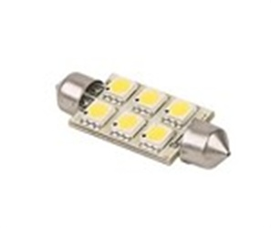 FESTOON 42MM(2) 12 VOLT LED